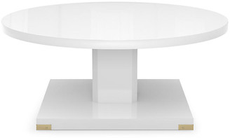 Bunny Williams Home Paxton Coffee Table - White Lacquer