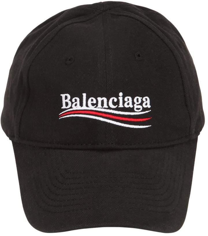 Balenciaga Politically Correct Canvas Baseball Hat