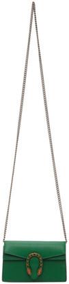 Gucci Green Super Mini Dionysus Wallet On Chain Bag