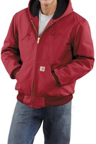 Carhartt Active Duck Jacket - Flannel-Lined (For Men)