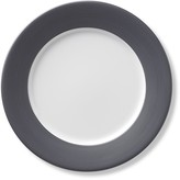 Apilco Tradition Grey Solid-Rim Salad Plates, Set of 4