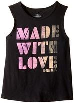 O'Neill Kids - Made With Love Rylee Tank Top Girl's Sleeveless