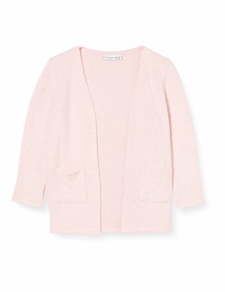 Name It Girls' NMFVICTI LS Knit Card L Cardigan Sweater