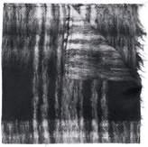 MP Massimo Piombo check print scarf