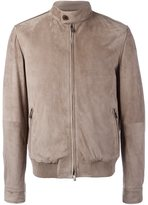 Tod's zipped leather jacket