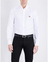 Ralph Lauren Purple Label Slim-fit Logo Cotton Shirt