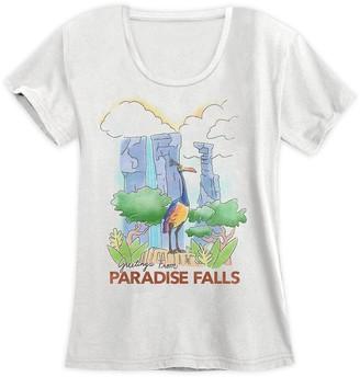 Disney Kevin at Paradise Falls T-Shirt for Women Up