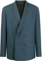 Lemaire Double-Breasted Suit Jacket