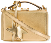 Mark Cross Saffiano Mini Grace Star Box - Gold
