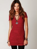 Nightcap Thira Cap Sleeve Dress