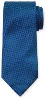 Charvet Printed Silk Tie, Blue