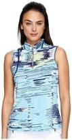 Jamie Sadock - Digi Box Print Sleeveless Top Women's Sleeveless