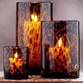 Tortoise Glass Candleholders