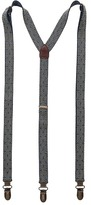 Scotch & Soda Elastic Suspender with Leather Details