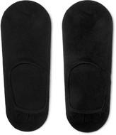 HUGO BOSS Stretch Cotton-Blend No-Show Socks