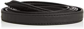Mama Licious MAMALICIOUS Women's MLNEW ELONORA NARROW DOUBLE BELT Belt, Black