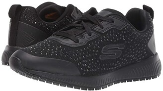 Skechers Squad - Prout SR (Black) Women's Shoes