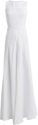 Honorine Lisette Linen Maxi Dress