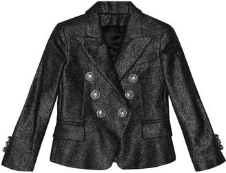 Balmain Kids Wool-blend blazer