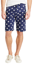 Denim & Supply Ralph Lauren Star Print Chino Shorts, Navy