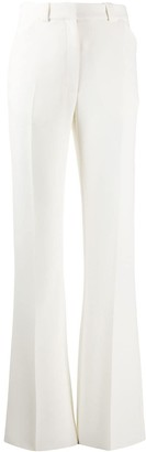 Mulberry Tapered Flared Leg Trousers