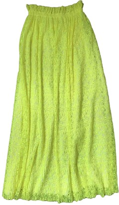MSGM Yellow Skirt for Women