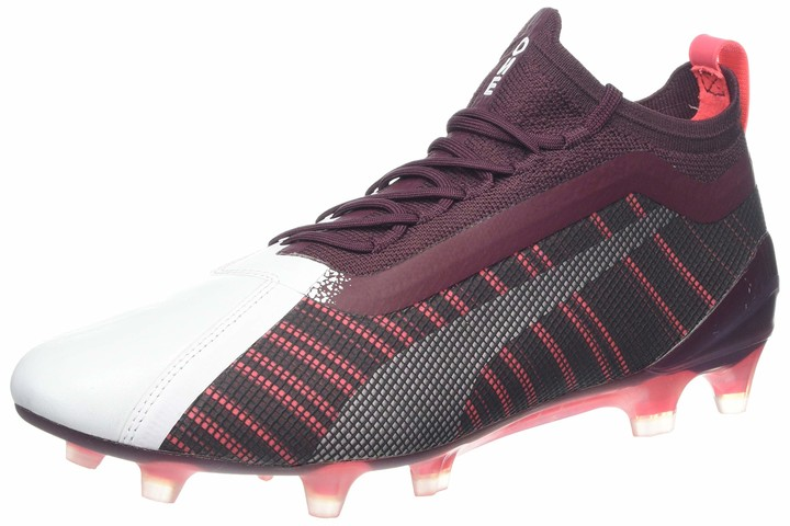 Thumbnail for your product : Puma Women's ONE 5.1 FG/AG WN's Football Boots White-Vineyard Wine Silver 4 UK