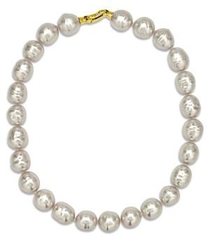 Majorica Baroque Simulated Pearl Collar Necklace, 17