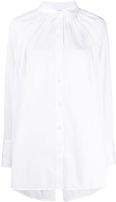 Victoria Victoria Beckham Longline Back Slit Shirt