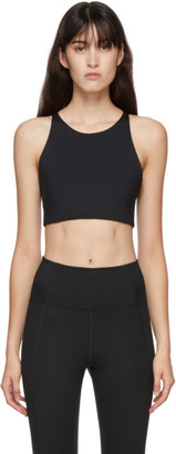 Girlfriend Collective Black Topanga Tank Sports Bra