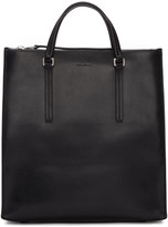 Rick Owens Black Vertical Tote Bag