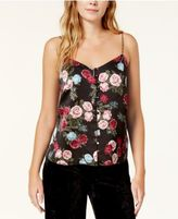 Kensie Floral-Print Buttoned Camisole