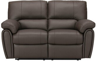 Leighton Leather/Faux Leather 2 Seater Power Recliner Sofa
