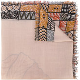 Hemisphere patterned scarf
