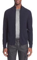 Belstaff 'Latham' Merino Wool Zip Front Pullover
