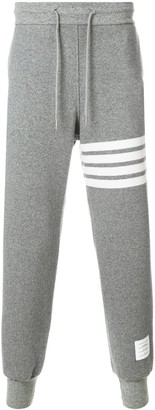 Thom Browne 4-Bar Cashmere Shell Sweatpant