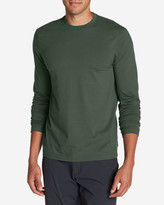 Eddie Bauer Men's Lookout Long-Sleeve T-Shirt - Solid