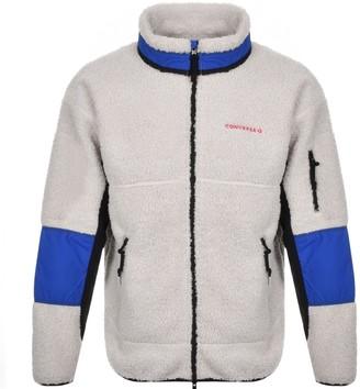 Converse Polar Fleece Sherpa Jacket Cream