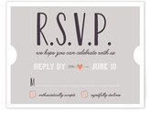 Minted The Winning Ticket RSVP Cards