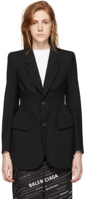 Balenciaga Black Hourglass Jacket