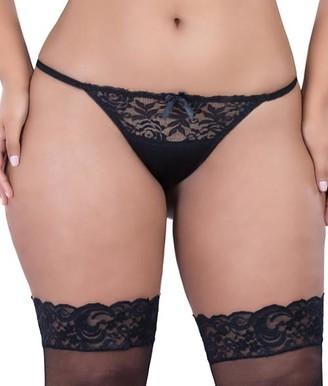 Oh La La Cheri Plus Size Raquel Open-Back Tanga