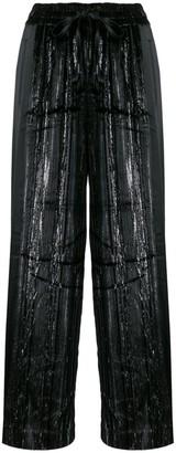 Three floor Minnelli sheen wide trousers