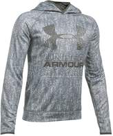 Under Armour Boys 8-20 Big Logo Fleece Pull-Over Hoodie