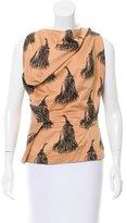 Vivienne Westwood Tassel Print Sleeveless Top