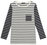 Petit Bateau Womens striped T-shirt