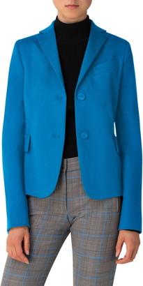 Akris Punto Virgin Wool & Cashmere Blazer