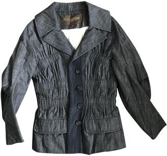Louis Vuitton Grey Cotton Jackets
