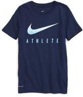 Nike Boy's Athlete Dri-Fit T-Shirt