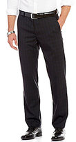 Murano Alex Modern Slim-Fit Flat-Front Plaid Pants