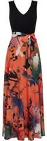 Gina Bacconi Ravenna Printed Dress